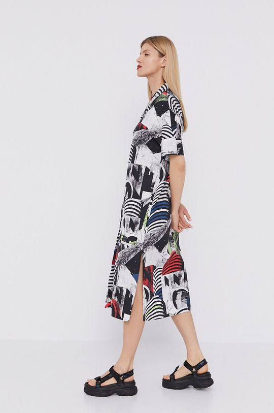 BIMBA Y LOLA - Sukienka 100 % Bawełna