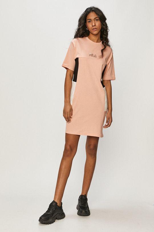 Fila - Sukienka różowy
