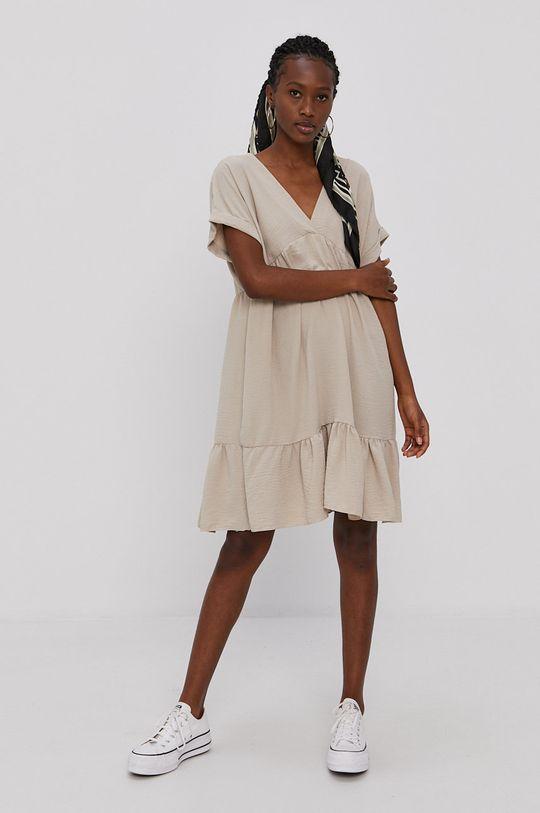 piaskowy Haily's - Sukienka Damski