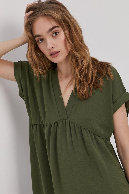 brązowa zieleń Haily's - Sukienka Damski