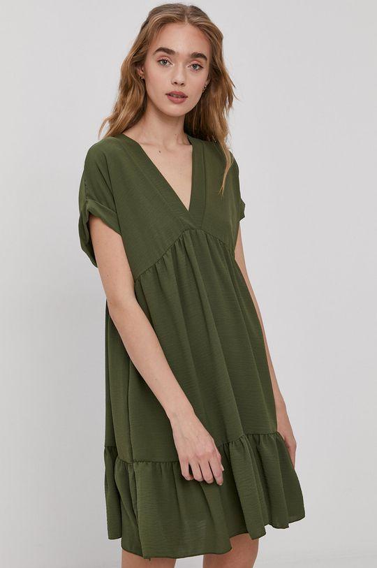 brązowa zieleń Haily's - Sukienka