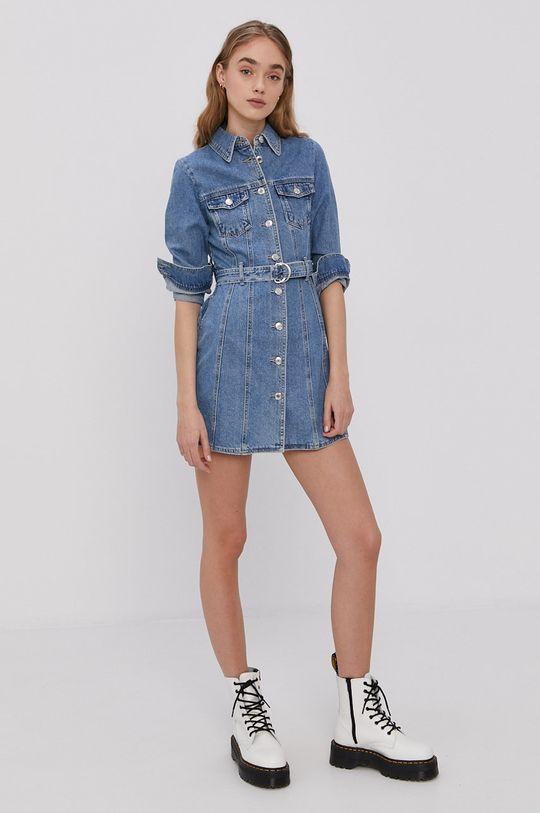 niebieski Tally Weijl - Sukienka jeansowa Damski