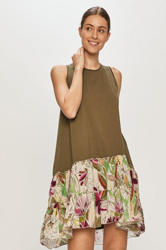 oliwkowy Deha - Sukienka Damski