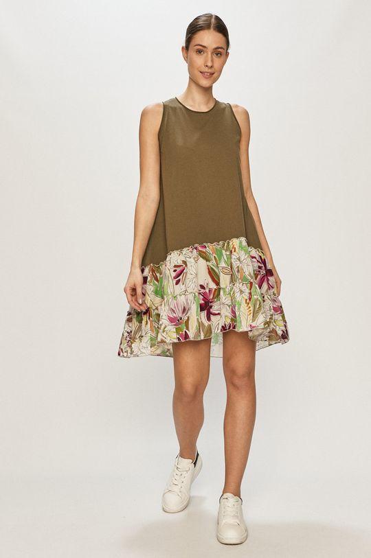 Deha - Sukienka oliwkowy