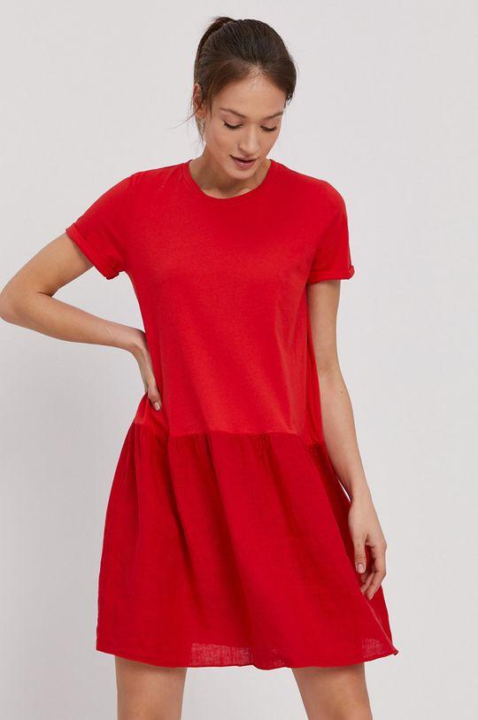 červená Deha - Šaty Dámsky