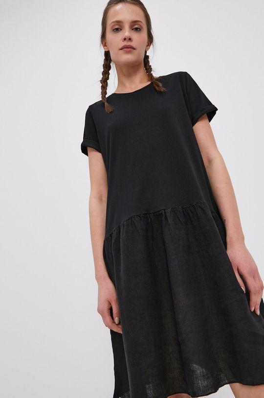 czarny Deha - Sukienka
