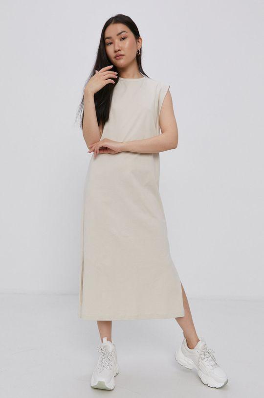 smetanová Vero Moda - Šaty Dámský