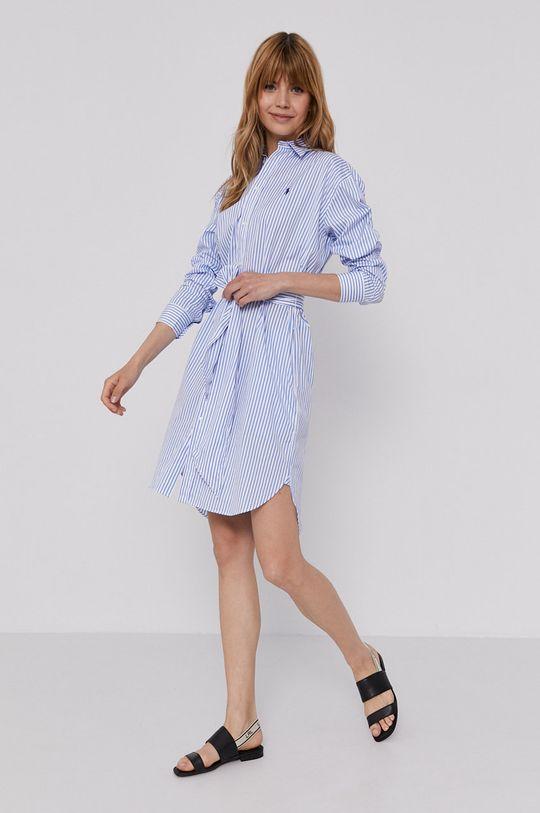 Polo Ralph Lauren - Sukienka niebieski