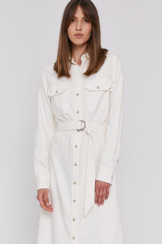 bílá Polo Ralph Lauren - Džínové šaty