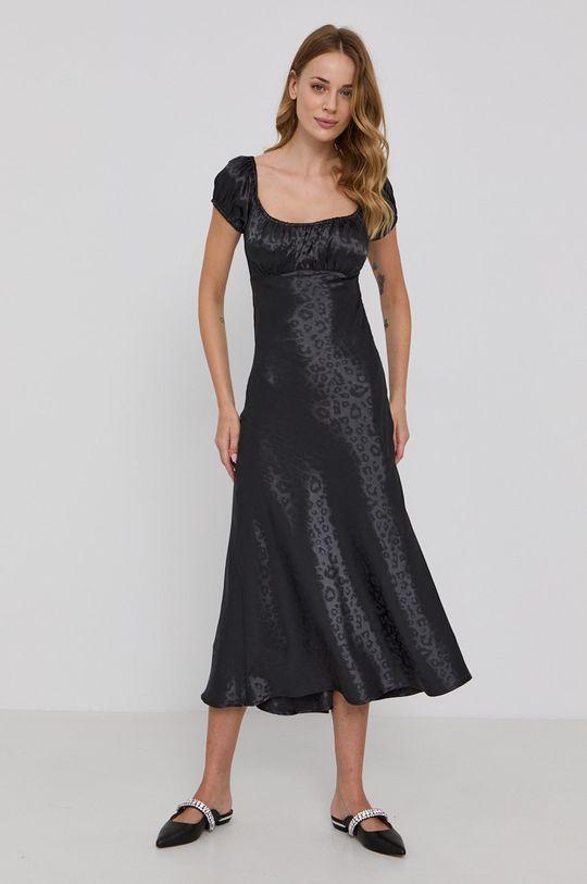 černá Bardot - Šaty Dámský
