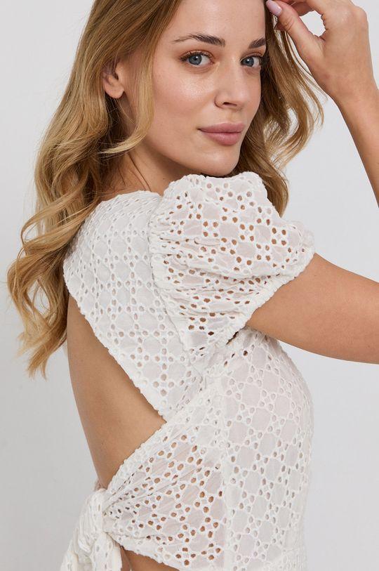 bílá Bardot - Šaty