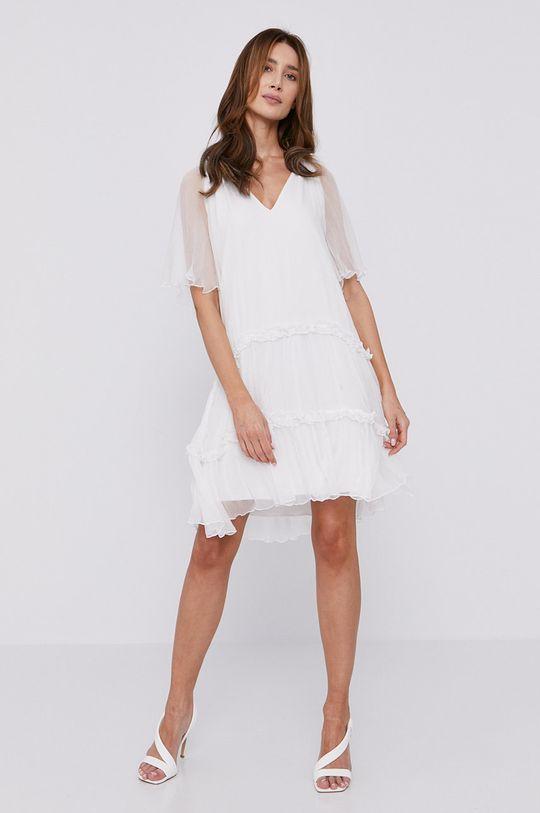 NISSA - Šaty biela