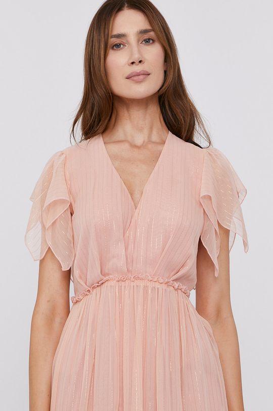 ružová NISSA - Šaty