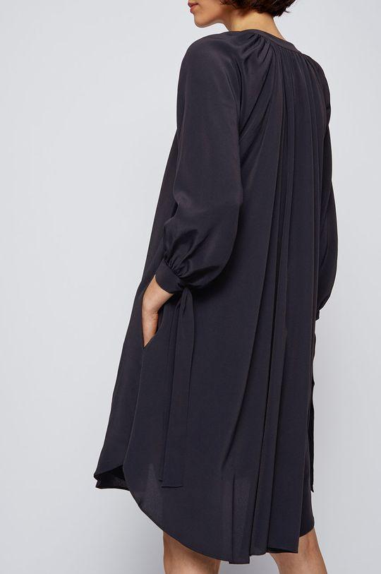Boss - Sukienka Podszewka: 100 % Wiskoza, Materiał zasadniczy: 51 % Jedwab, 49 % Wiskoza