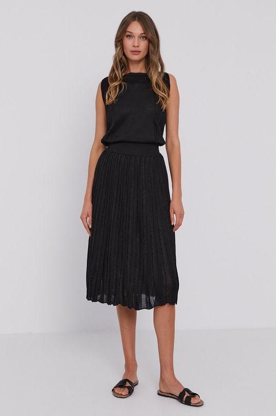 Stefanel - Šaty čierna