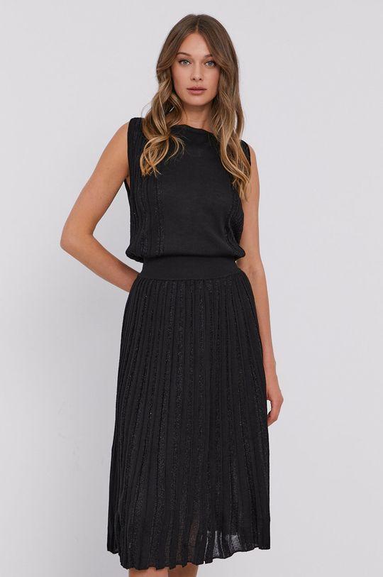 čierna Stefanel - Šaty