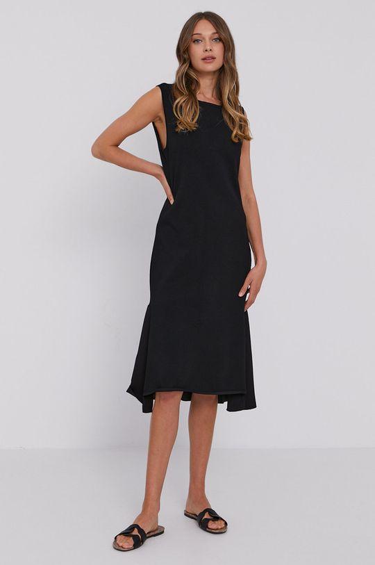 Stefanel - Šaty černá