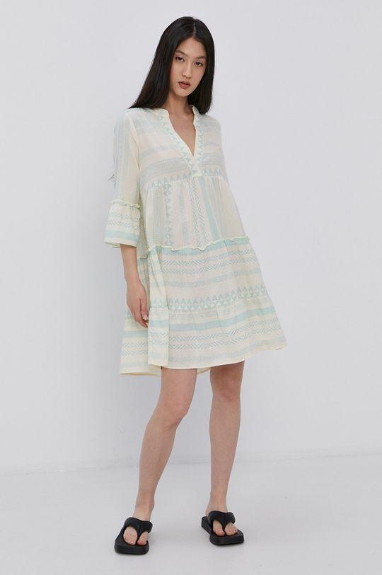 Vero Moda - Sukienka piaskowy