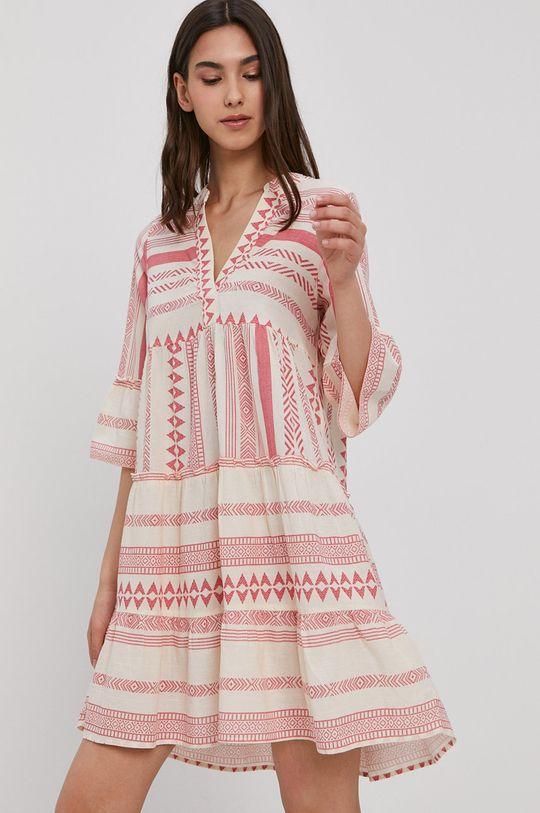 piaskowy Vero Moda - Sukienka Damski