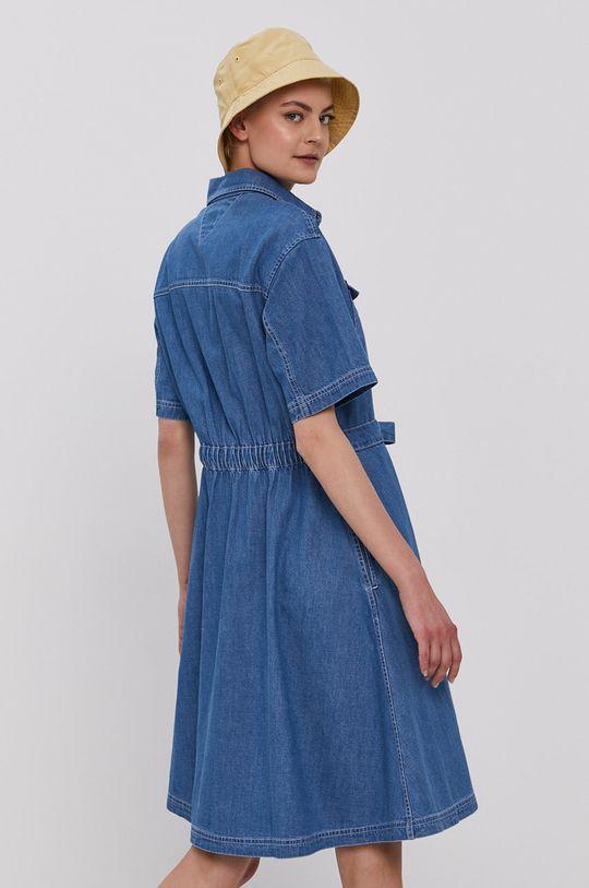 Tommy Jeans - Sukienka 90 % Bawełna, 10 % Konopie