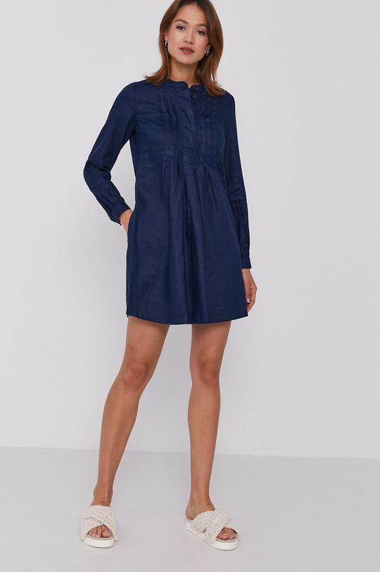 United Colors of Benetton - Šaty námořnická modř