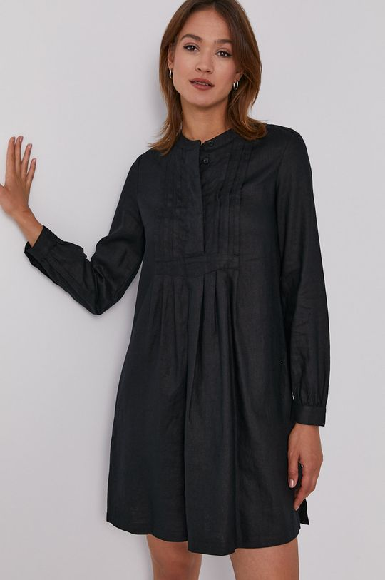 czarny United Colors of Benetton - Sukienka Damski
