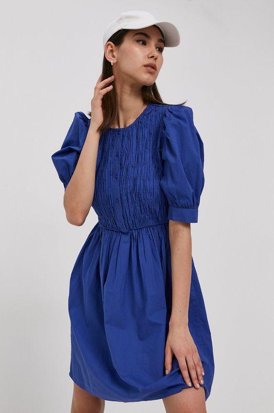 Pieces - Sukienka niebieski