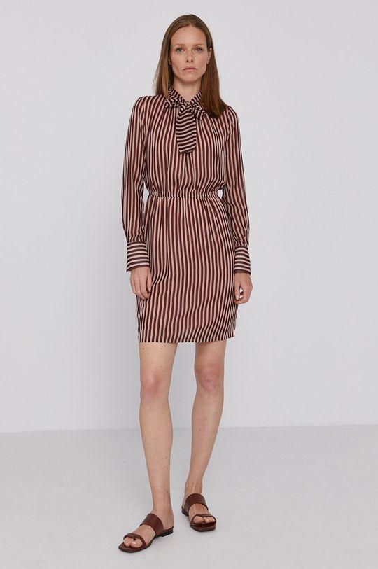 Sisley - Šaty hnědá