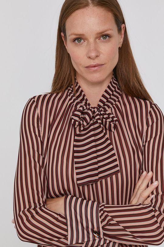 hnědá Sisley - Šaty