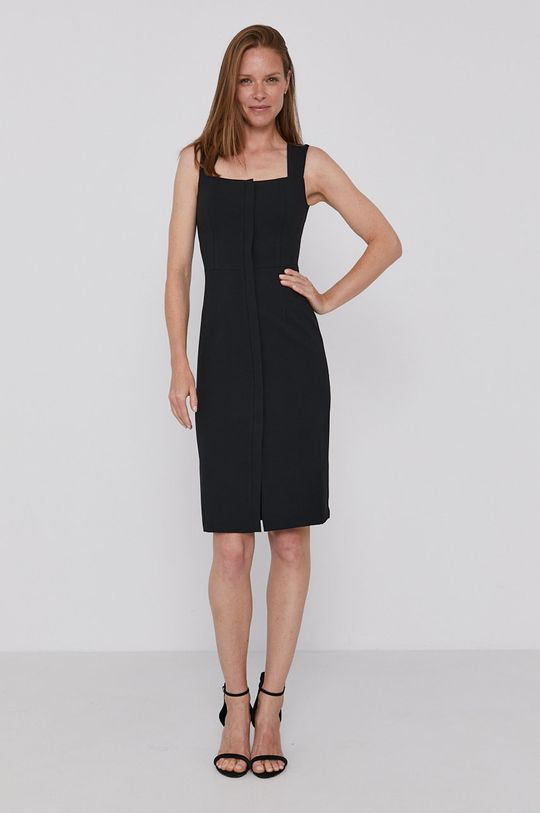 Sisley - Sukienka czarny
