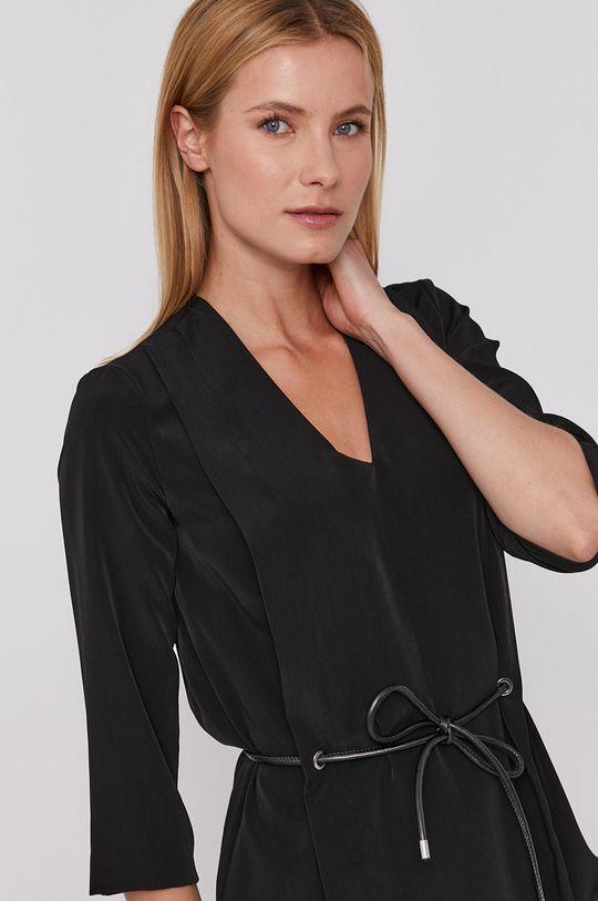 čierna Sisley - Šaty Dámsky