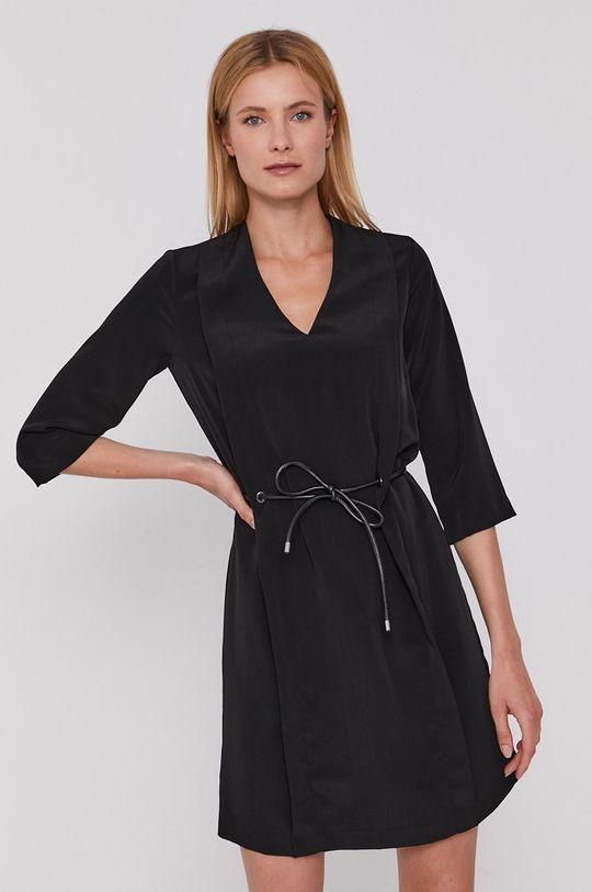 čierna Sisley - Šaty