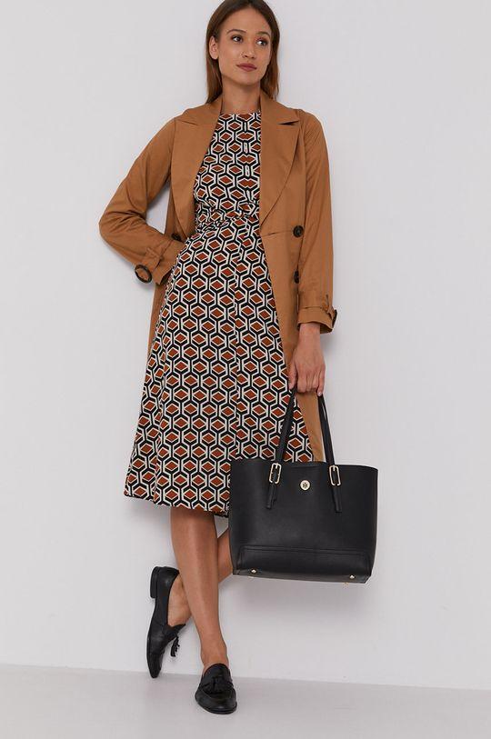 Sisley - Sukienka brązowy