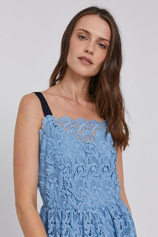 fialová Sisley - Šaty