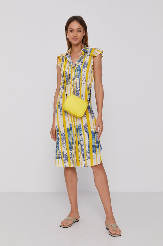 Sisley - Šaty žlutá