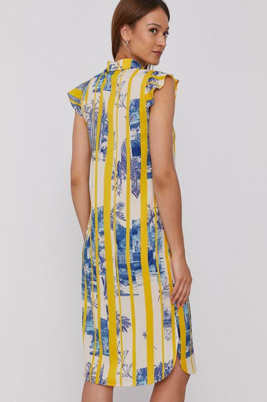 Sisley - Šaty  100% Polyester