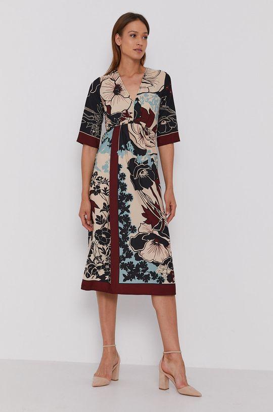 Sisley - Sukienka multicolor