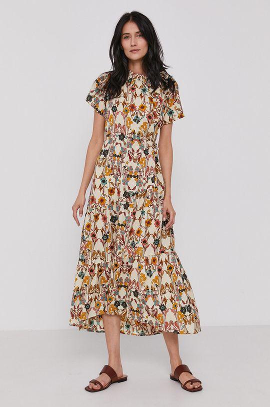 viacfarebná Sisley - Šaty Dámsky
