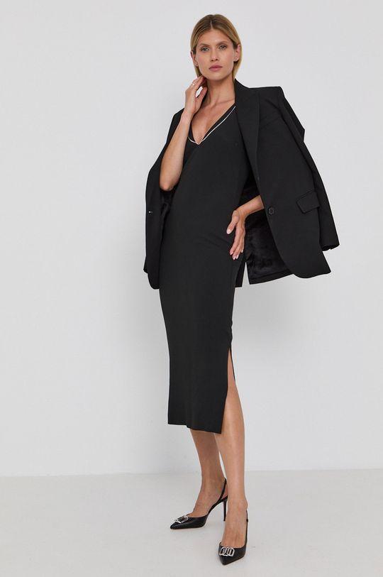 Boss - Šaty černá