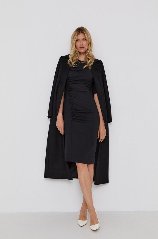 Boss - Šaty čierna