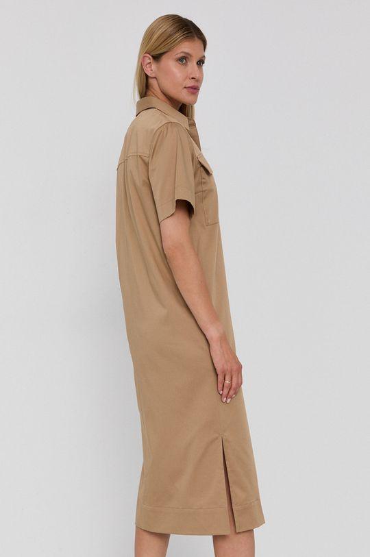 Boss - Sukienka Materiał zasadniczy: 96 % Bawełna, 4 % Elastan