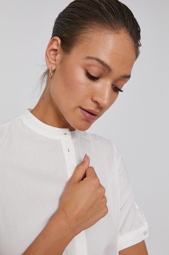 bílá Vero Moda - Bavlněné šaty
