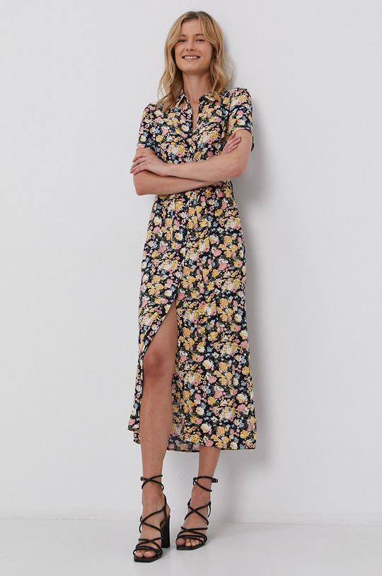 granatowy Vero Moda - Sukienka Damski