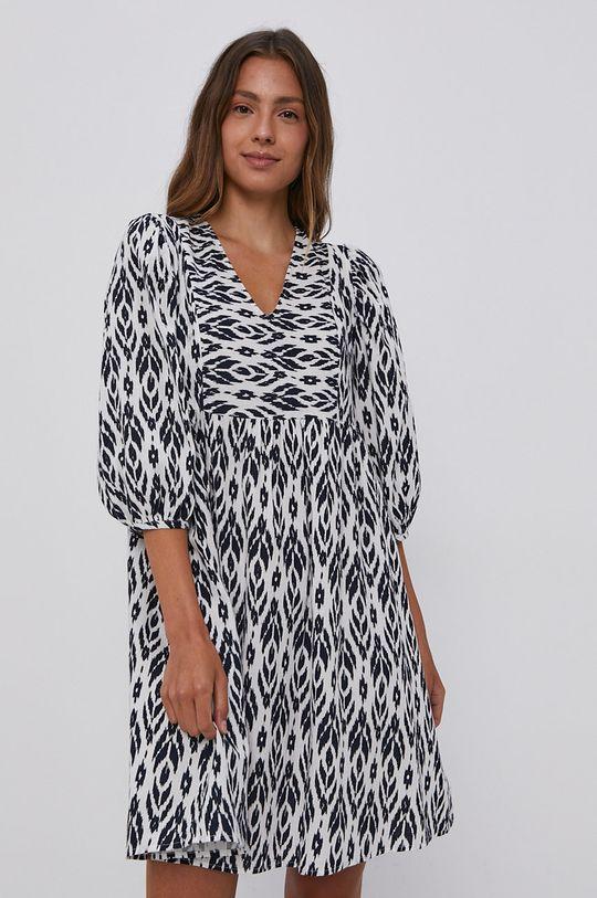 biały Vero Moda - Sukienka bawełniana Damski