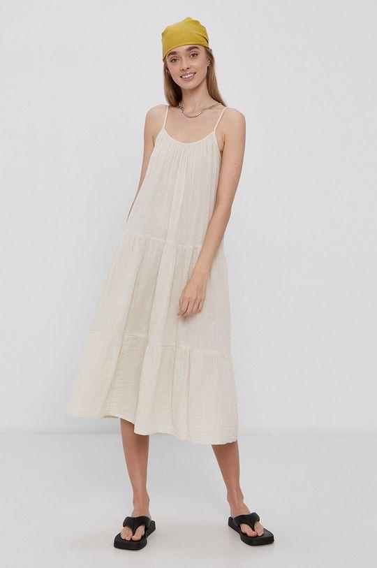 kremowy Vero Moda - Sukienka bawełniana Damski