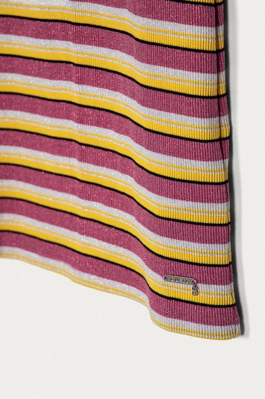 Guess - Sukienka dziecięca 116-176 cm 84 % Bawełna, 16 % Włókno metaliczne