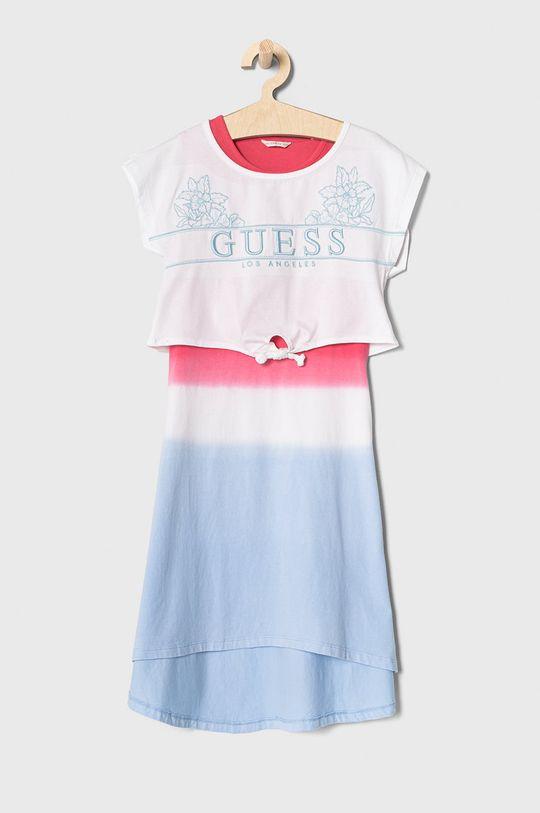 niebieski Guess - Sukienka dziecięca 116-175 cm Dziewczęcy