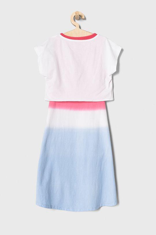 Guess - Sukienka dziecięca 116-175 cm niebieski