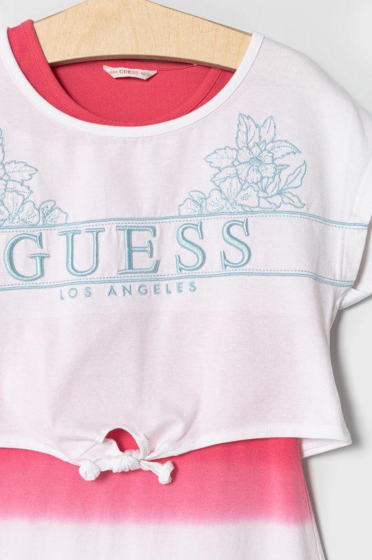 Guess - Sukienka dziecięca 116-175 cm 95 % Bawełna, 5 % Elastan
