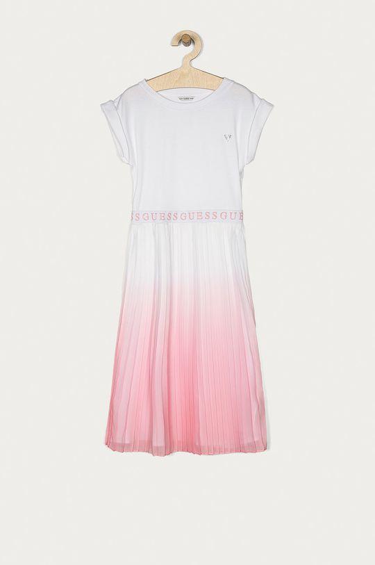 biały Guess - Sukienka dziecięca 116-175 cm Dziewczęcy